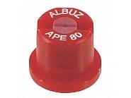 APE80RED Dysza płaskostrumieniowa APE 80° czerwona ceramiczna