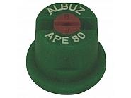 APE80GREEN Dysza płaskostrumieniowa APE 80° zielona ceramiczna