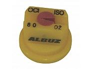 OCI8002 Dysza brzegowa OCI 80°, żółta, ceramiczna