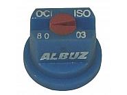 OCI8003 Dysza brzegowa OCI 80°, niebieska, ceramiczna