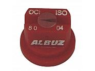 OCI8004 Dysza brzegowa OCI 80°, czerwona, ceramiczna