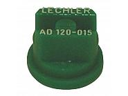 AD120015POM Dysza płaskostrumieniowa AD 120° zielona tworzywo sztuczne