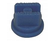 AD12003POM Dysza płaskostrumieniowa AD 120° niebieska tworzywo sztuczne