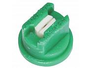 AD120015C Dysza płaskostrumieniowa AD 120° zielona ceramika