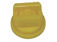 LU12002POM Dysza płaskostrumieniowa LU 120° żółta tworzywo sztucznego