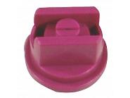 LU120025POM Dysza płaskostrumieniowa LU 120° fioletowa tworzywo sztucznego