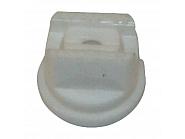 LU12008POM Dysza płaskostrumieniowa LU 120° biała tworzywo sztuczne