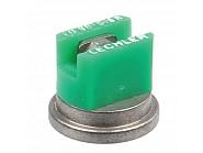 LU90015S Dysza płaskostrumieniowa LU 90° zielona V2A, nierdzewna