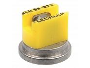 LU9002S Dysza płaskostrumieniowa LU 90° żółta V2A, nierdzewna