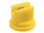 LU12002S Dysza płaskostrumieniowa LU 120° żółta V2A, nierdzewna