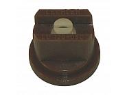 LU12005C Dysza płaskostrumieniowa LU 120° brązowa ceramiczna
