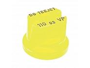 DG11002VP Dysza płaskostrumieniowa DG 110° żółta tworzywo sztuczne