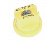 DG8002VS Dysza płaskostrumieniowa DG 80° żółta V2A, nierdzewna