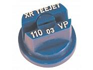 Dysza płaskostrumieniowa XR 110° niebieska tworzywo sztuczne