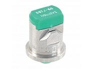 DGTJ60110015VS Podwójna dysza płaskostrumieniowa DGTJ 110° zielona V2A, nierdzewna