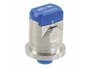 DGTJ6011003VS Podwójna dysza płaskostrumieniowa DGTJ 110° niebieska V2A, nierdzewna