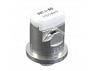 DGTJ6011008VS Podwójna dysza płaskostrumieniowa DGTJ 110° biała V2A, nierdzewna
