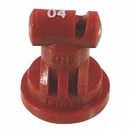 TT11004VP Dysza płaskostrumieniowa TT 110° czerwona tworzywo sztuczne