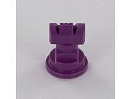 TTJ60110025VP Podwójna dysza płaskostrumieniowa TTJ 110° fioletowa, tworzywo sztuczne