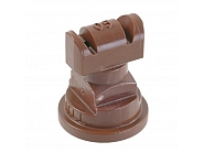 TTJ6011005VP Podwójna dysza płaskostrumieniowa TTJ 110° brązowa, tworzywo sztuczne