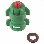 TD110015 Dysza płaskostumieniowa TD 110° zielona, ceramiczna