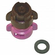 TDXL110025 Dysza wtryskiwacza TDXL 110° fioletowa, z tworzywa sztucznego