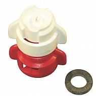 TDXL11004HK Dysza wtryskiwacza TDXL 110° czerwona w części, ceramiczna