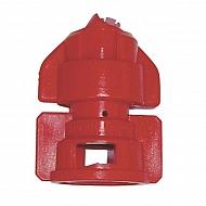 TDHS11004 Dysza płaskostrumieniowa TDHS110° czerwona
