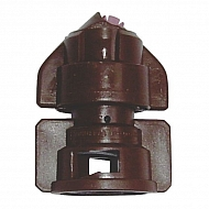 TDHS11005 Dysza płaskostrumieniowa TDHS110° brązowa