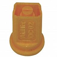 AMOC8002 Dysza skośna zaw. AirMix OC 80° żółta