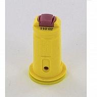 AVITWIN11002 Dysza wtryskiwacza AVI TWIN 110° żółta, ceramiczna