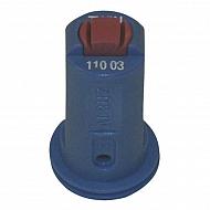 AVITWIN11003 Dysza wtryskiwacza AVI TWIN 110° niebieska, ceramiczna
