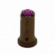 AVITWIN11005 Dysza wtryskiwacza AVI TWIN 110° brązowa, ceramiczna