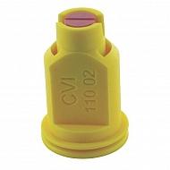 CVI11002 Dysza wtryskiwacza CVI 110° żółta, ceramiczna