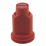 CVI11004 Dysza wtryskiwacza CVI 110° czerwona, ceramiczna