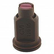 CVI11005 Dysza wtryskiwacza CVI 110° brązowa, ceramiczna