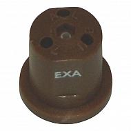 EXABROWN Dysza nawozu płynnego EXA 3-otworowa brązowa