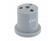 EXAGREY Dysza nawozu płynnego EXA 3-otworowa szara