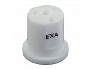 EXAWHITE Dysza nawozu płynnego EXA 3-otworowa biała