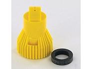 KWYELLOW Dysza nawozy płynne Kwix 3-strumienie żółta, ceramiczna