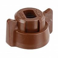 40290007 Pokrywka dyszy 8 mm brązowa