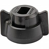 40290001 Pokrywka dyszy 8 mm czarna