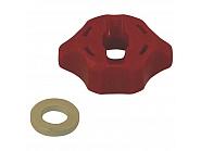 0652025600 Kołpak, pokrywka dyszy czerwona