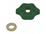 0652045603 Kołpak, pokrywka dyszy zielona