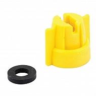 0921645610 Pokrywka dyszy MultiCap żółtyLechler