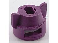 CP2561110NY Kołpak, pokrywka dyszy 8 mm liliowa