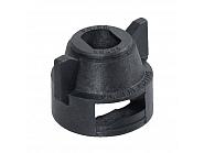CP502861NY Kołpak, pokrywka dyszy czarna 10 mm