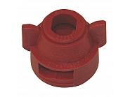 CP255973NY Kołpak, pokrywka dyszy czerwona 11 mm