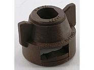 CP255977NY Kołpak, pokrywka dyszy 11 mm brązowa