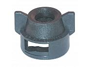 CP256071NY Kołpak, pokrywka dyszy czarna 13 mm
